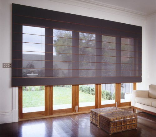 Roman Blinds TIMBERSHADES - Roman blinds